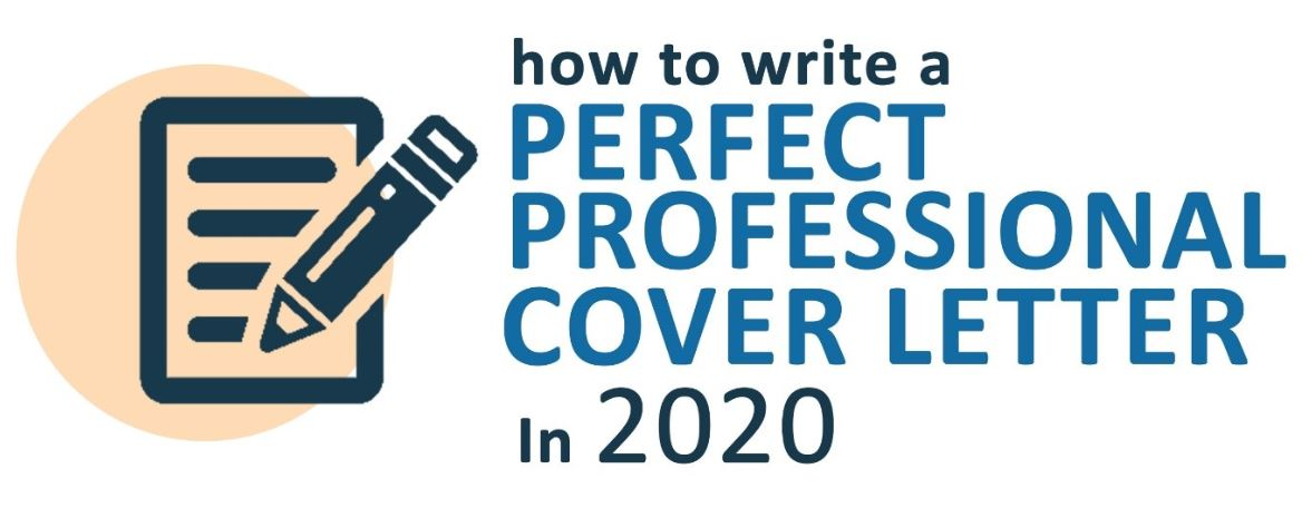 How to write a perfect and professional cover letter in 2020 image