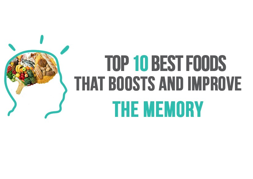 Top 10 Best Foods that Boost and Improve your Memory Function image